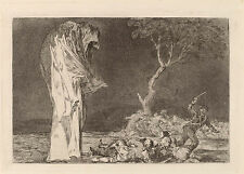 Goya Prints: Los Disparates (Follies): No. 2 - Folly of Fear: Fine Art Print