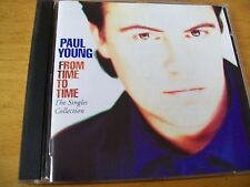 PAUL YOUNG FROM TIME TO TIME THE SINGLES COLLECTION CD MINT-