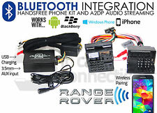 Range Rover Mk III Bluetooth streaming handsfree calls L322 AUX MP3 iPhone Sony