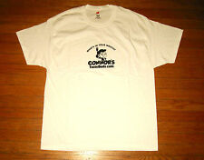 "CONNOR'S TASTE BUDS T-Shirt, Men's XL, White Tee, ""What's In Your Mouth?"" NEW"