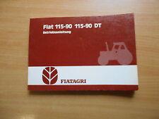 Betriebsanleitung  Traktor Fiat 115 - 90 / 115 - 90 DT