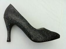 "Pumps, High Heels,  9,5 cm, multicolor ""Glitter""  Gr. 40  (41),  getragen"