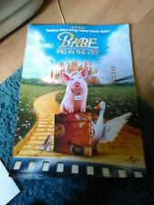 Babe Pig in the City (Babe the pig)  Movie Poster