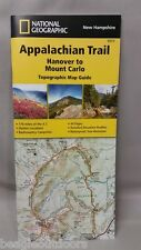 National Geographic TI Appalachian Trail NH Hanover to Mount Carlo Map 1511