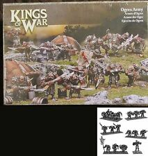 Kings of War MGKWH100 Ogres Army (19) Miniatures Ogre Mercenaries Starter Force