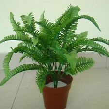 Home Office Fake Lifelike Plants Artificial Persian Leaves Grass Flower Decor