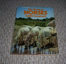 1969 World of Horses Judith Campbell ROYAL MILITARY CIRCUS CALGARY STAMPEDE hc