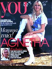YOU magazine AGNETHA FALTSKOG abba MAMMA MIA exclusive INTERVIEW new UK issue