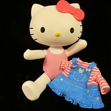 "HELLO KITTY DOLL-Best Friends- 12"" Jointed Poseable-Denim Dress-Sanrio  Blip"