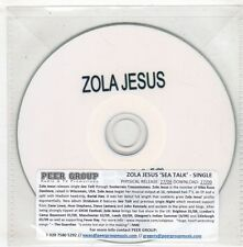 (GX775) Zola Jesus, Sea Talk - DJ CD