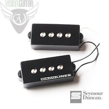 NEW! Seymour Duncan Quarter Pound Pickup Set for P-Bass® SPB-3 - Black