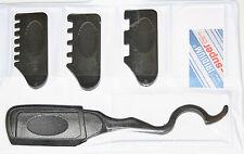 Tri Slider per Capelli Professionale Rasoio Set con 4 allegati in custodia nera