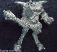 1987 Chaos Minotaur Lord C34 Doombellow the Warped Citadel Beasts Beastmen Army
