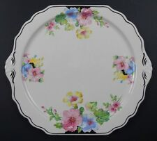 "The Harker Pottery Co. 12"" Floral Plate"