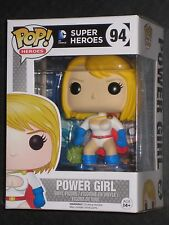 DC UNIVERSE POWER GIRL POP VINYL FIGURE FUNKO EARTH 2 SUPERGIRL IN STOCK NEW HOT
