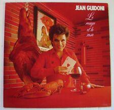 JEAN GUIDONI  (LP 33 Tours)  LE ROUGE ET LE ROSE