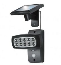 Solar 14 LED Motion Sensor Light Ultra Bright Rotating Spotlight Security Path