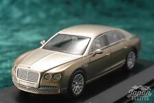 [KYOSHO ORIGINAL 1/64] BENTLEY FLYING SPUR (Light gold/Gold)