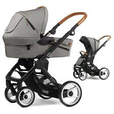 Mutsy Evo Urban NOMAD Combination pram Light Grey Frame nomad Black