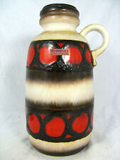70´s design Fat Lava Scheurich Keramik pottery vase 413 - 26 with original label