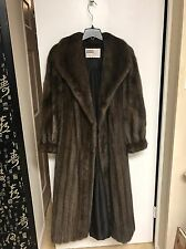 Full Length Mink Fur Coat. Great Condition. Size 10-12