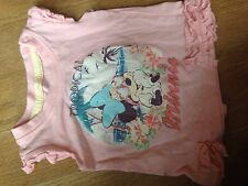 minnie mouse tshirt 0/3 months