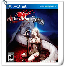 PS3 Drakengard 3 SONY PlayStation Games Action Square Enix