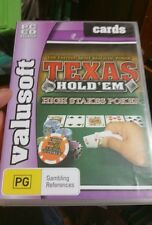 Texas Hold'em High Stakes Poker PC GAME - FREE POST