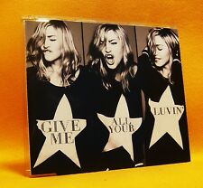 MAXI Single CD Madonna Give Me All Your Luvin' 2TR 2012 (MINT) Pop House