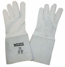 1 Pair Super Soft Tig Welding Gauntlets / Gloves / Hand Protection