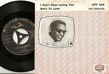 RAY CHARLES I CAN`T STOP LOVING YOU DANISH 45+PS 1961 MOD JAZZ R&B SOUL