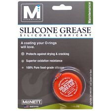 McNett M Essentials Silicone O Ring & Valve Protection Grease - 1/4oz Food Grade