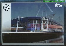 CAR1 STADIUM OF WALES THE ROAD TO CARDIFF STICKER CHAMPIONS LEAGUE 2017 TOPPS