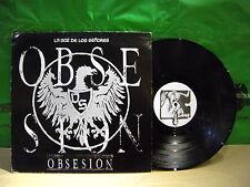La Voz De Los Señores – Obsesion ' 12'' VG++ / N.MINT SPAIN PRESS