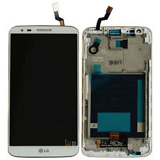 LG Optimus G2 D802 LCD Display Touchscreen Digitizer +Rahmen weiss ORIGINAL %100