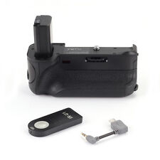 Pro Vertical Battery Grip Holder For Sony ILCE-6300 A6300 Camera BG-3FIR Remote