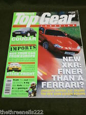 TOP GEAR # 57 - FORD COUGAR - JUNE 1998