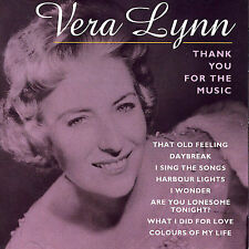 Thank You for the Music by Vera Lynn (CD, Feb-1998, Pulse)