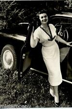 Girl & Car Bellezze e Motori Dolce Vita Automobile PC Circa 1960 Real Photo 7