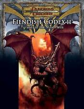 Fiendish Codex 2: Tyrants of the Nine Hells (D&D) (Dungeons & Dragons), Acceptab