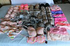 VS VICTORIA'S SECRET PINK WHOLESALE LOT SWIM WEAR and BANDEAU 62 PIECES p