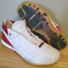 RARE 2001 OG Nike Air Jordan XVI 16 Low White Varsity Red Men's Shoes size 11