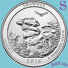 2016-S SHAWNEE NATIONAL FOREST (IL) QUARTER FROM ROLLS UNCIRCULATED PRESALE