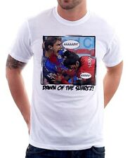 Dawn of SUAREZ CHELSEA LIVERPOOL JAWS BITE GNAWS funny white t-shirt 9623