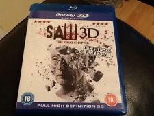 Saw 3D: The Final Chapter ( 3D and 2D ) Blu-Ray  Extreme Edition Classic Horror