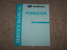 2009 Subaru Forester Wiring Diagrams Service Repair Manual 2.5L X XT Limited