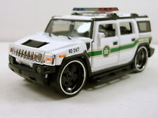 "5.5"" Diecast Model Hummer H2 Custom 1:35 scale SUV U.S. Border Patrol #166"