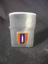 1997 Zippo Cigarette Lighter Military U.S. Army Sword Bradford PA USA
