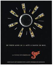 PUBLICITE ADVERTISING  1995  SOL  bière