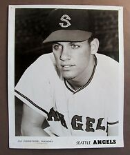 1968 JAY JOHNSTONE Seattle Angels Popcorn Card premium 8x10 PCL baseball photo
